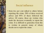 social influence4