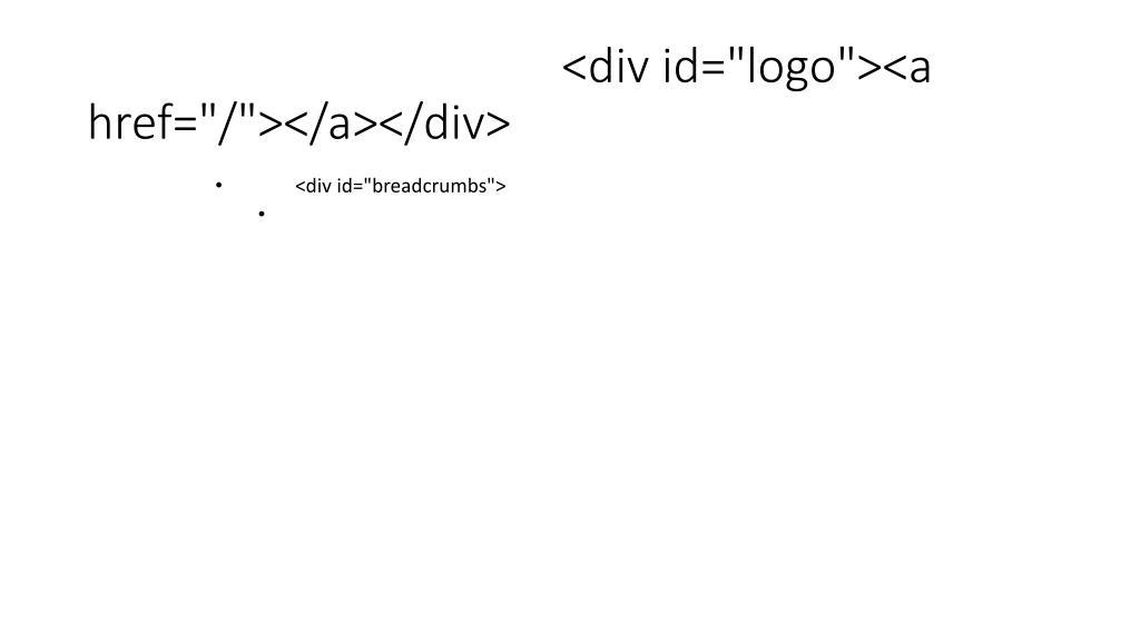 "<div id=""logo""><a href=""/""></a></div>"