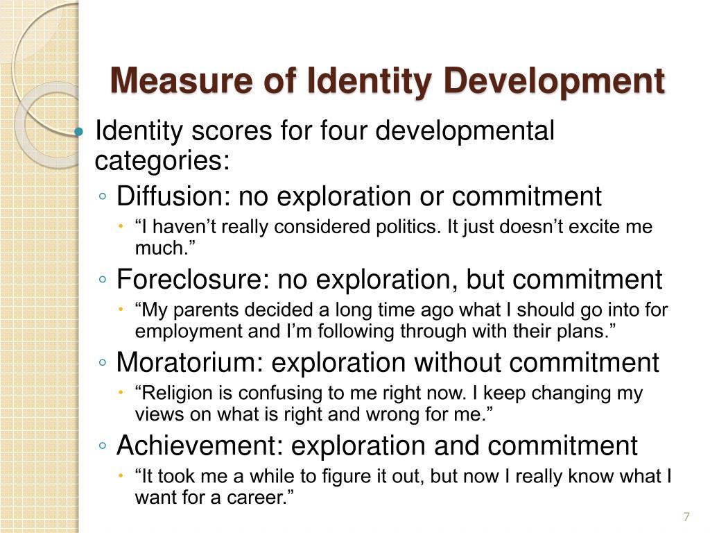 Measure of Identity Development