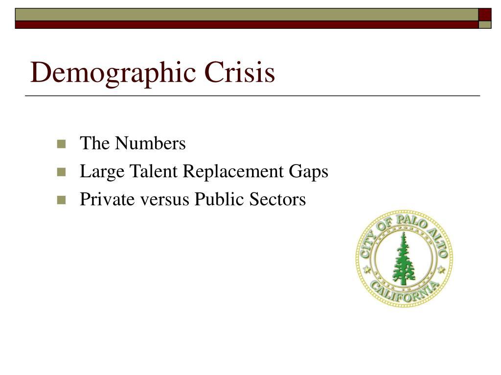 Demographic Crisis