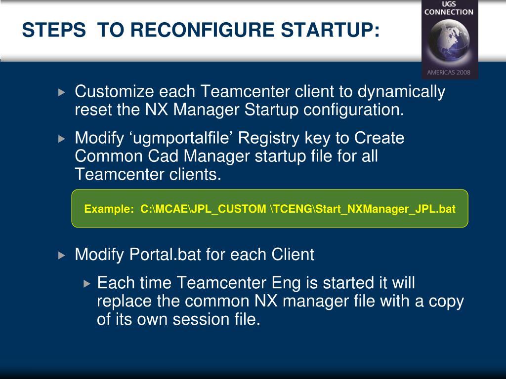 PPT - Managing Multiple Teamcenter Engineering Client