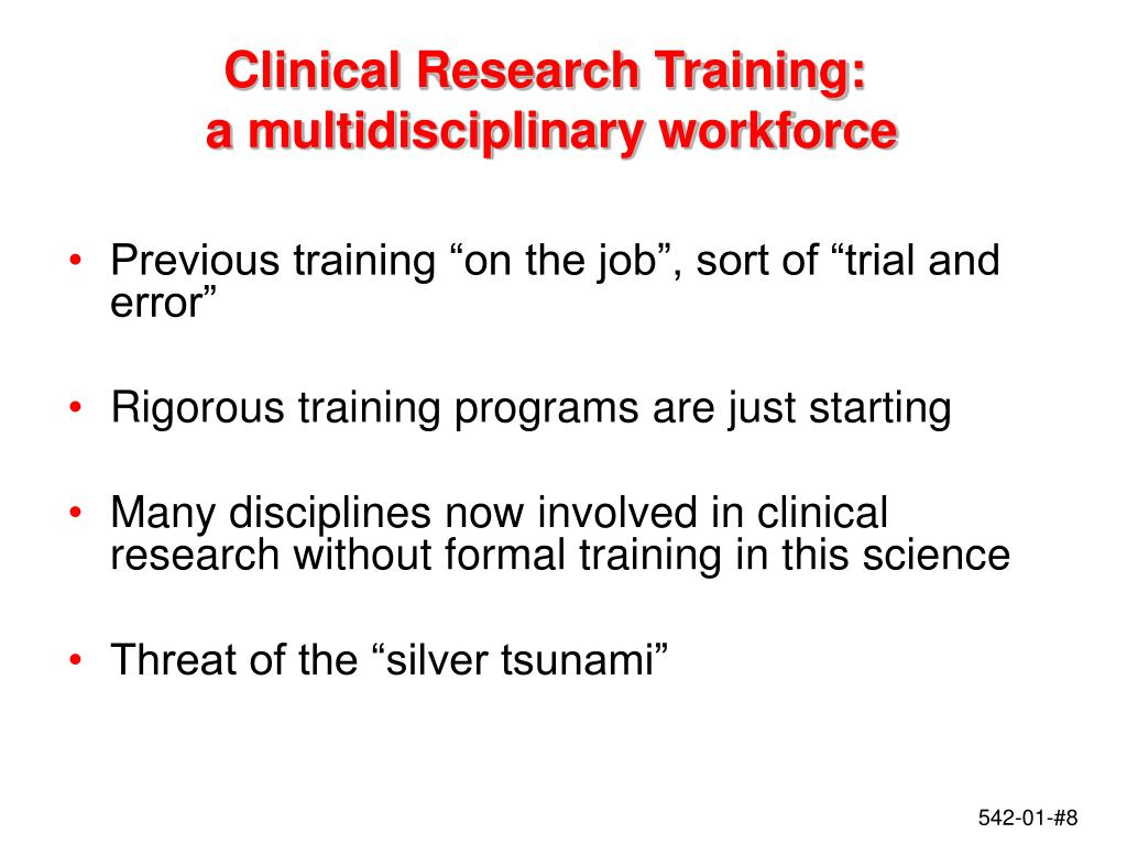 Clinical Research Training: