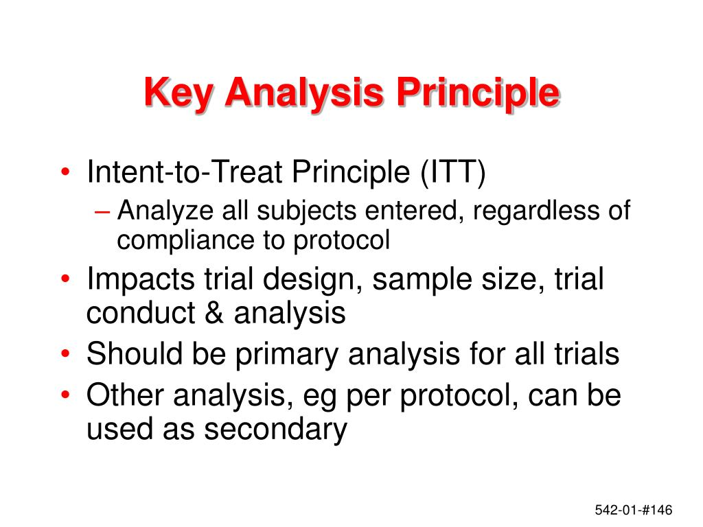 Key Analysis Principle
