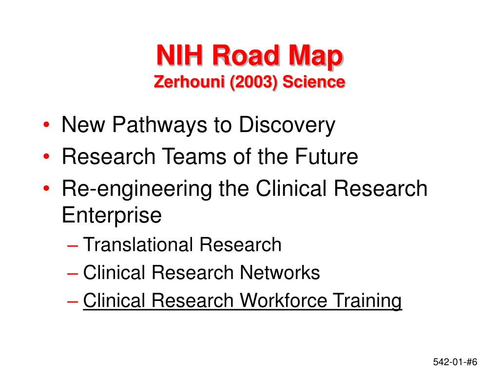 NIH Road Map