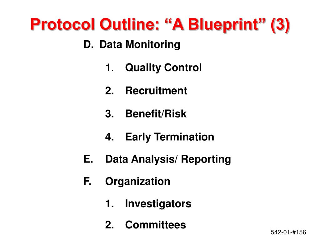 "Protocol Outline: ""A Blueprint"" (3)"