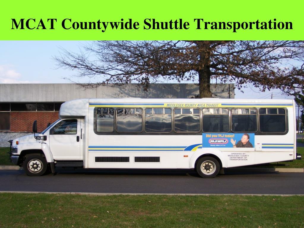 MCAT Countywide Shuttle Transportation