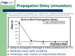propagation delay simulation