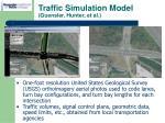 traffic simulation model guensler hunter et al