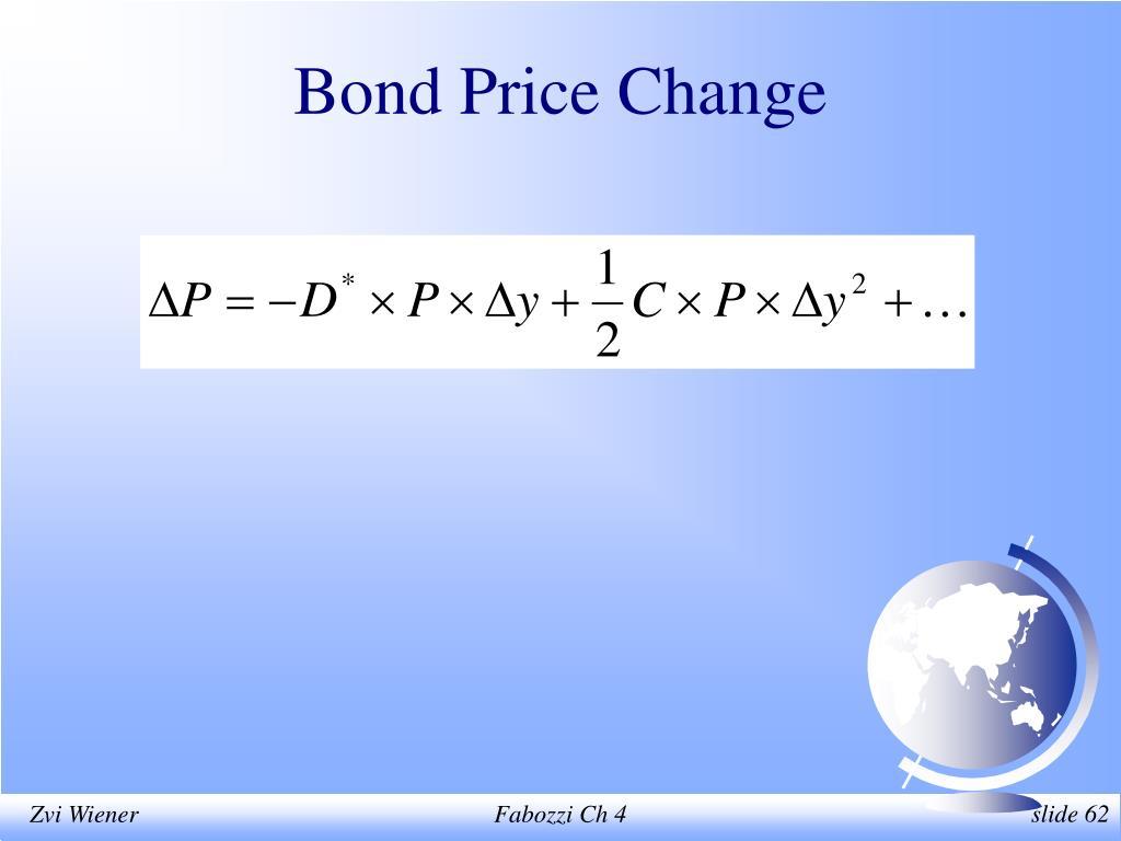 Bond Price Change
