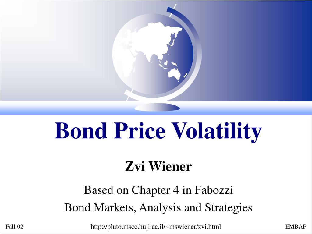 Bond Price Volatility
