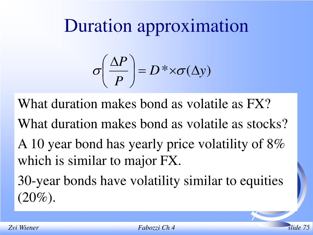 Duration approximation