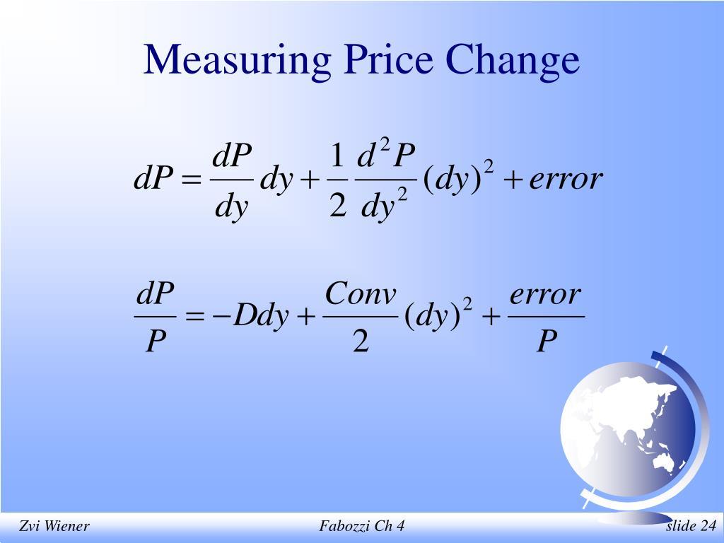 Measuring Price Change