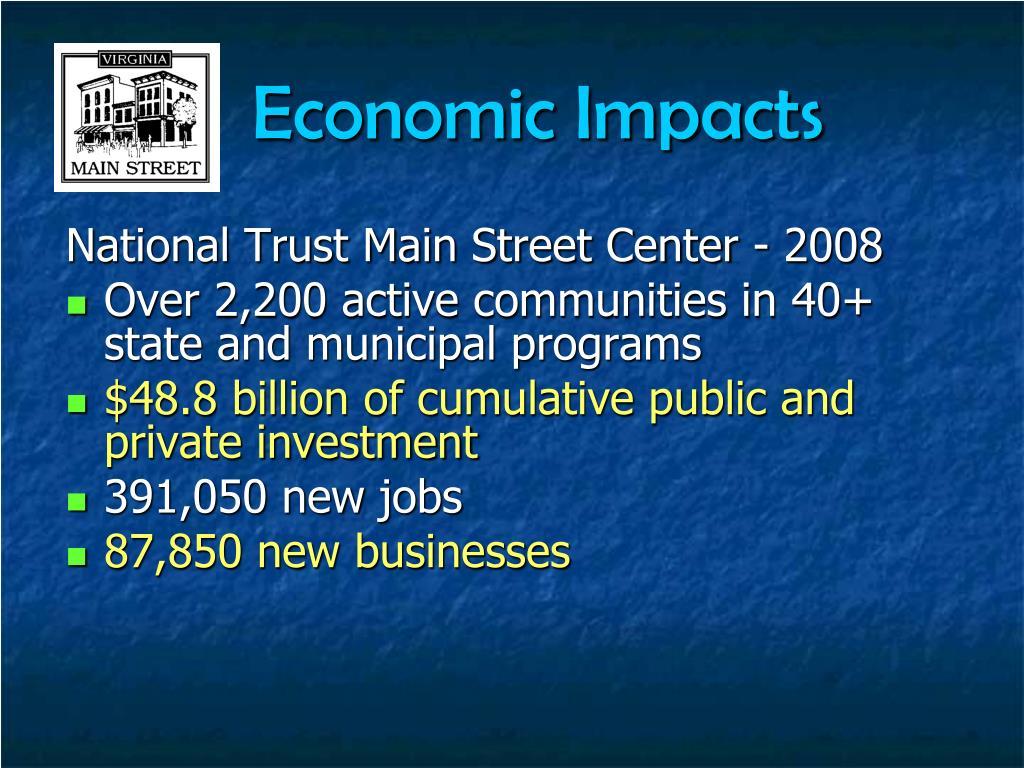 Economic Impacts
