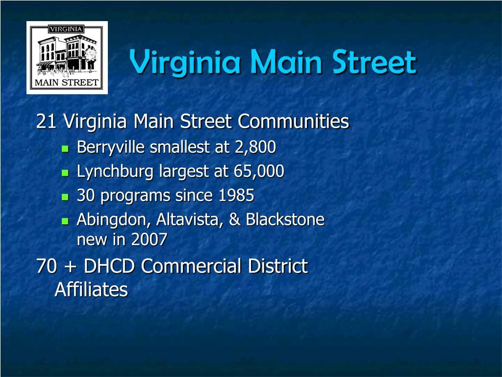 Virginia Main Street