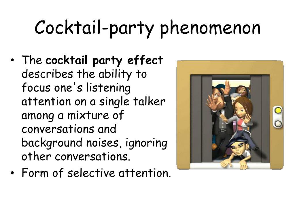 Cocktail-party phenomenon