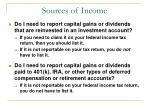 sources of income63
