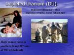 depleted uranium du