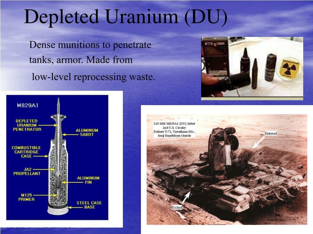 Depleted Uranium (DU)
