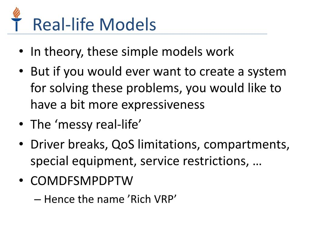 Real-life Models
