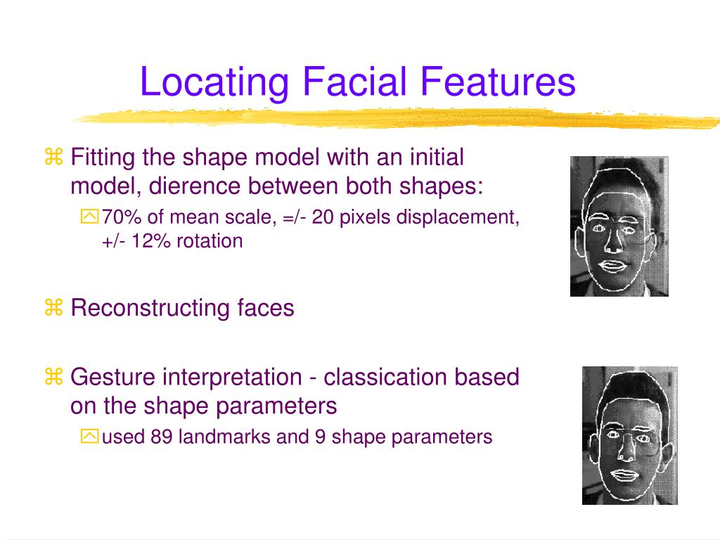 Locating Facial Features