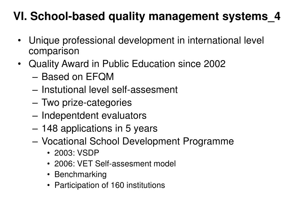 VI. School-based quality management systems_4