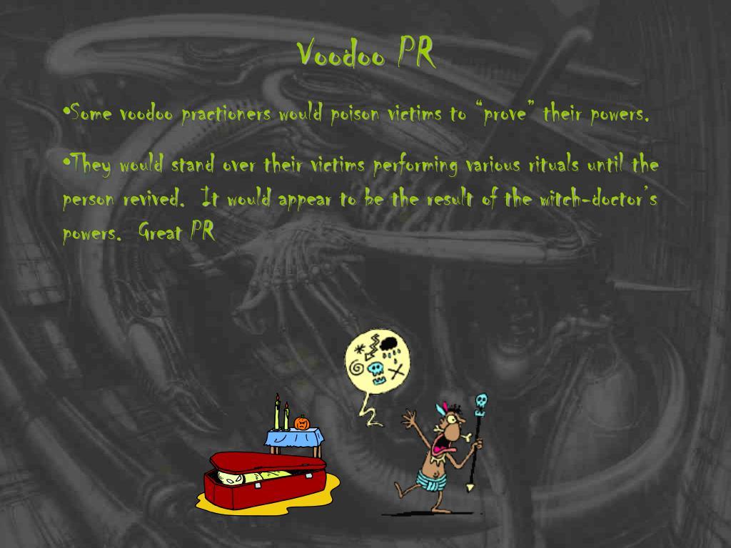Voodoo PR
