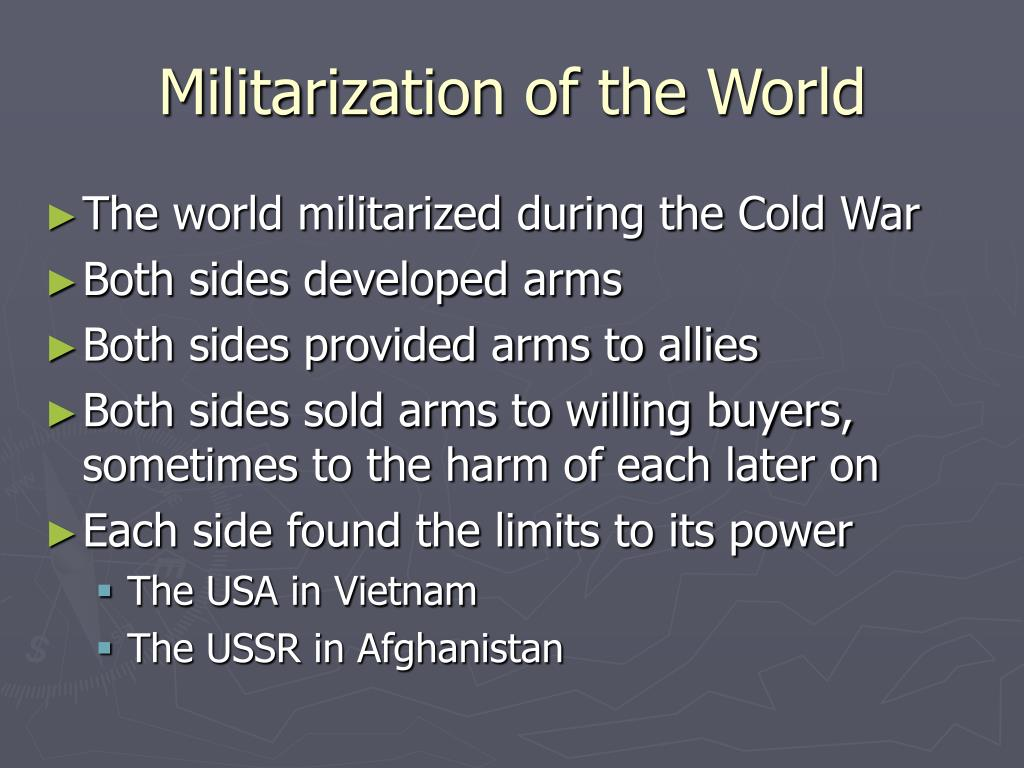 Militarization of the World