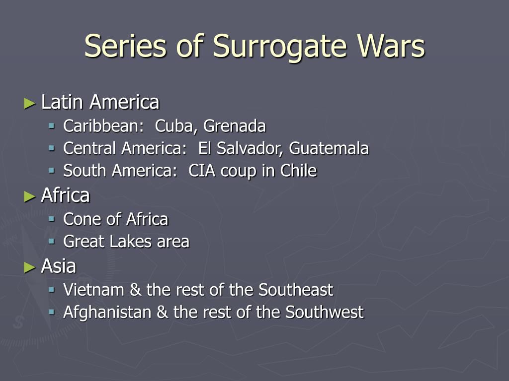 Series of Surrogate Wars