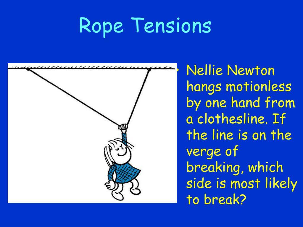 Rope Tensions