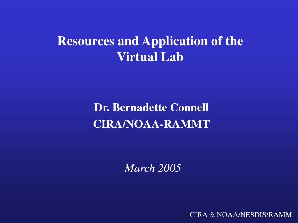resources and application of the virtual lab l.