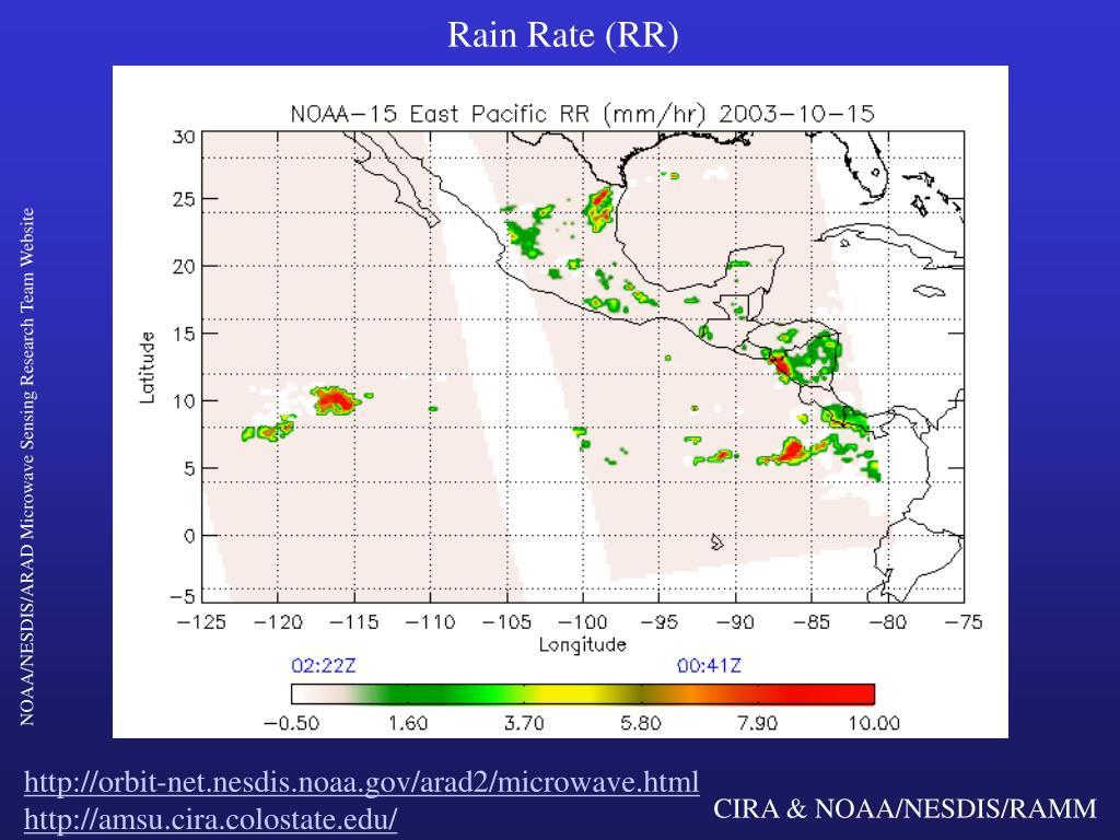Rain Rate (RR)