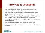 how old is grandma6