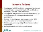 in work actions