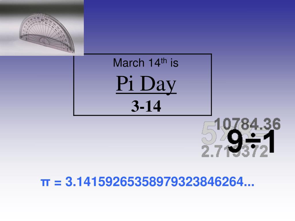 pi day 3 14