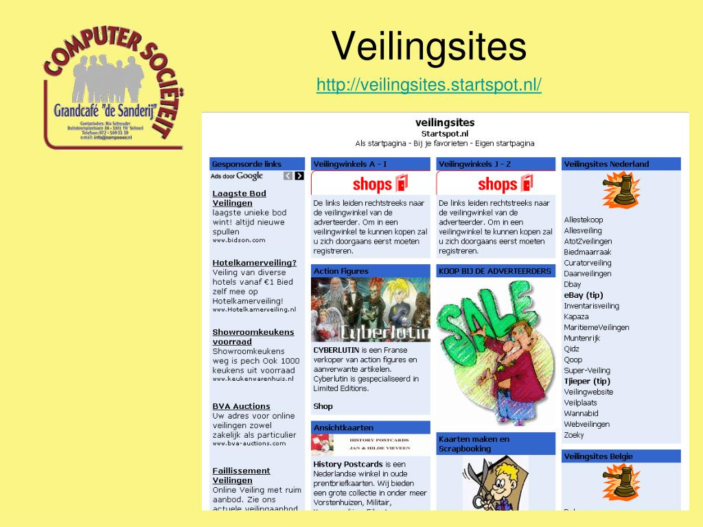 Ppt Veilingsites Powerpoint Presentation Free Download Id 568377