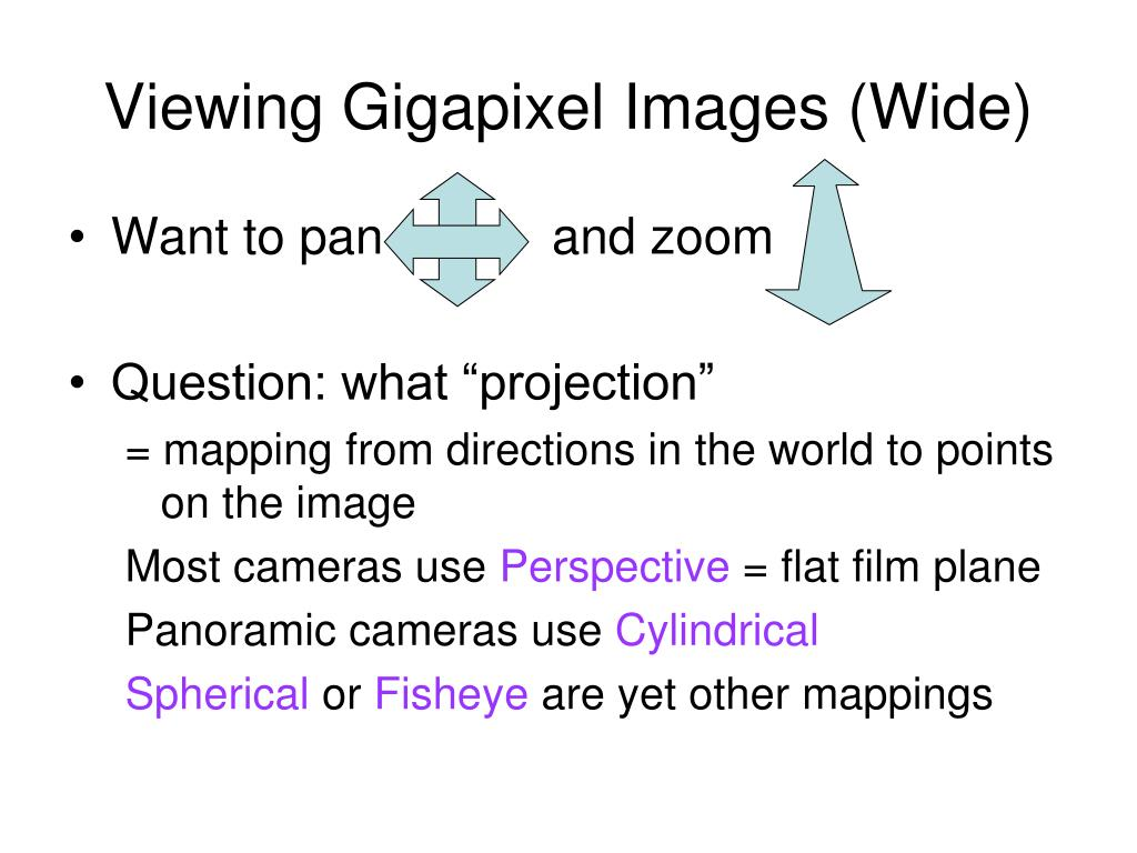 Viewing Gigapixel Images (Wide)
