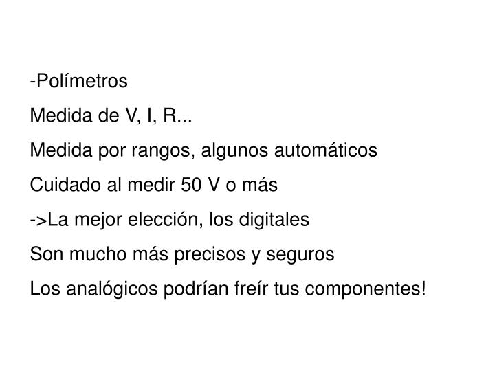 -Polímetros