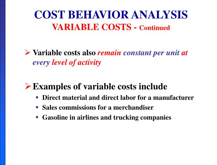 Ppt Chapter 5 Cost Volume Profit Powerpoint Presentation Id