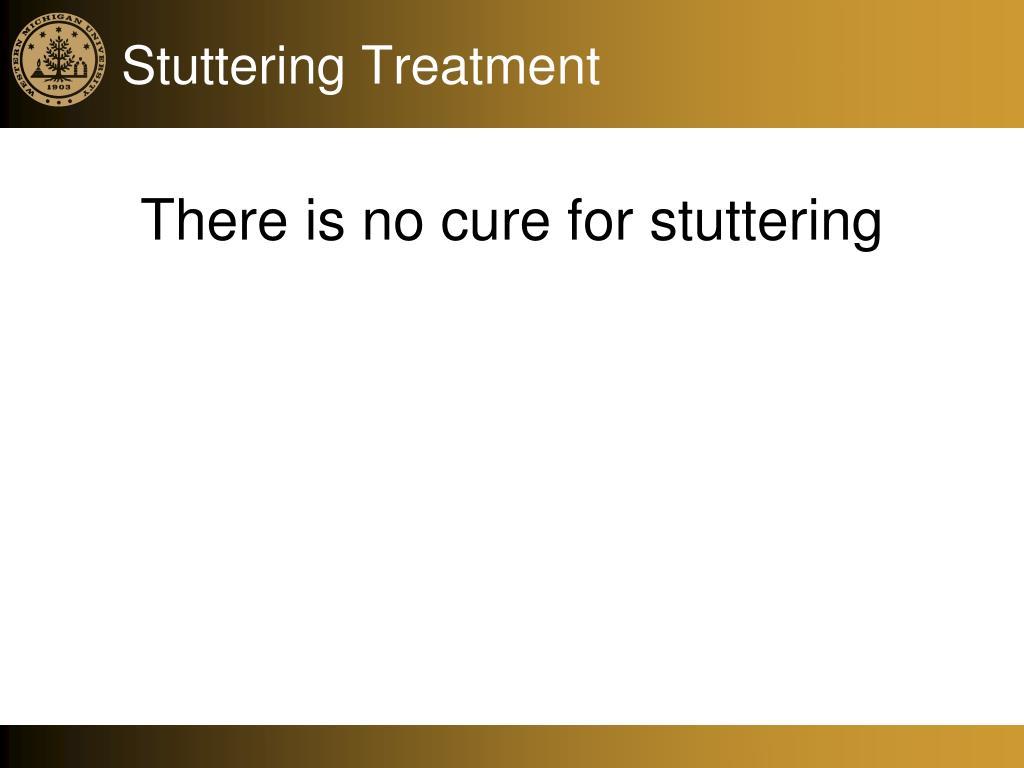 Stuttering Treatment