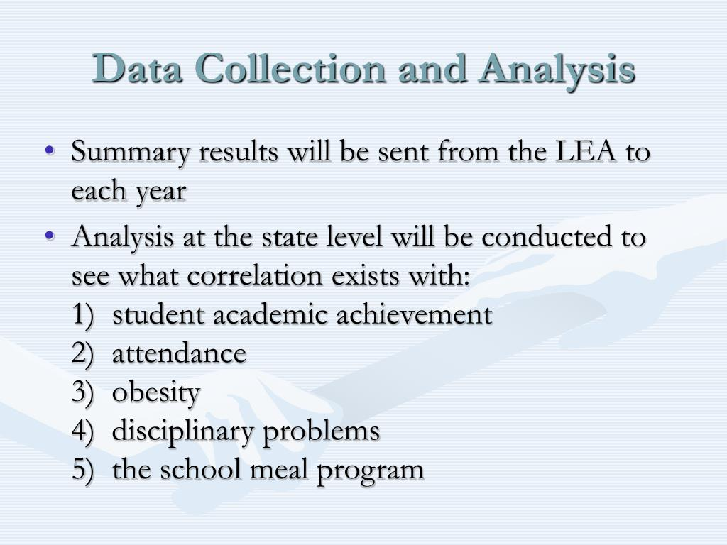 Data Collection and Analysis