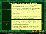 television changes american life4