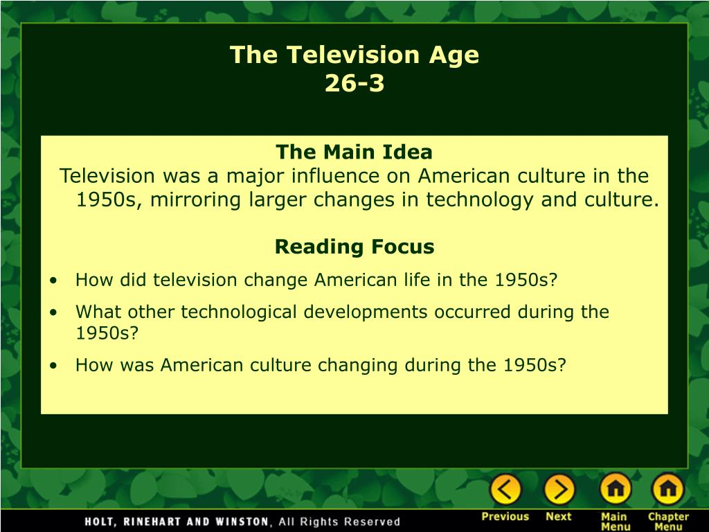 the television age 26 3