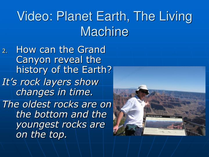 Video planet earth the living machine2