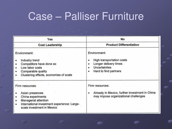 Case palliser furniture