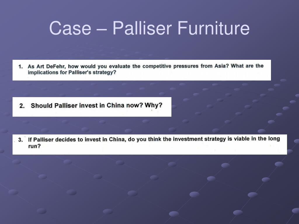 Case – Palliser Furniture