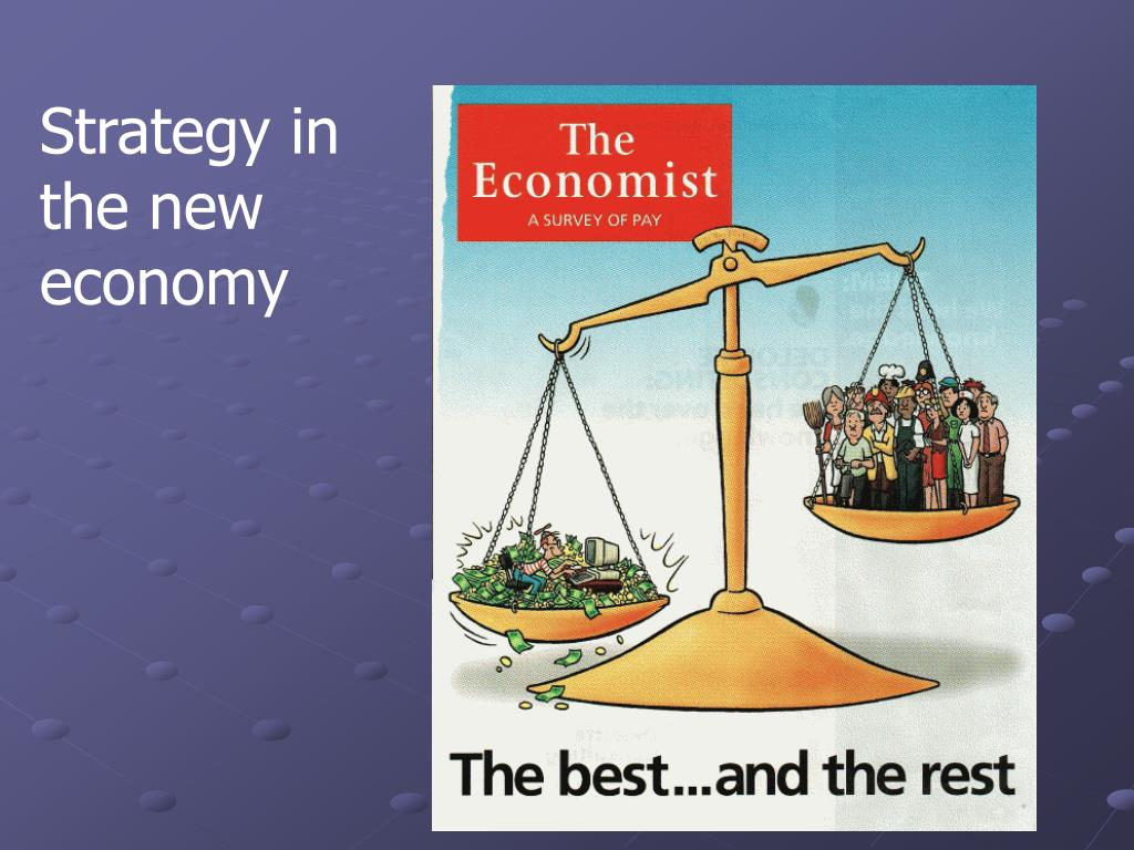 Strategy in the new economy
