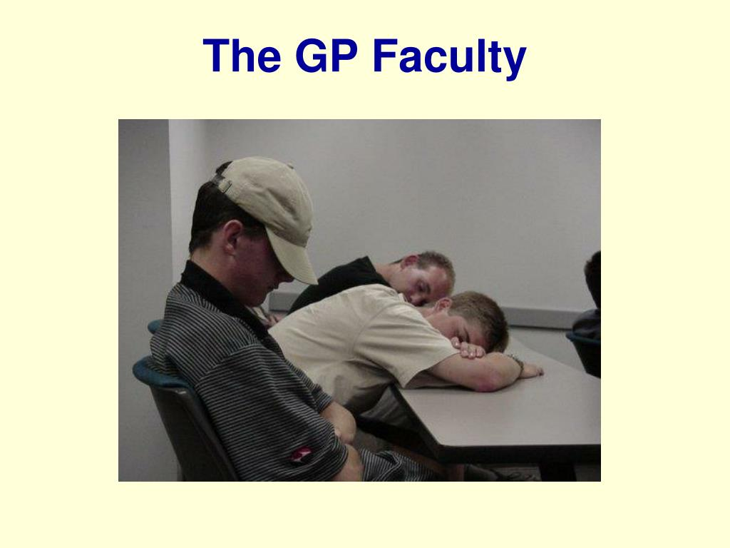 The GP Faculty