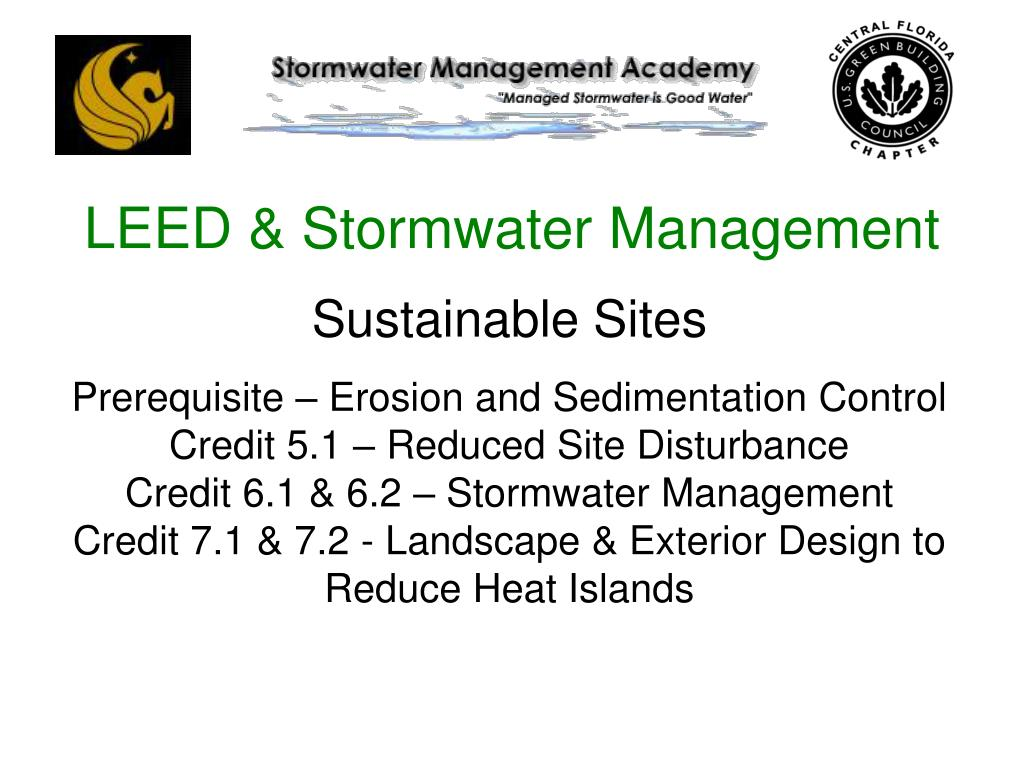 LEED & Stormwater Management