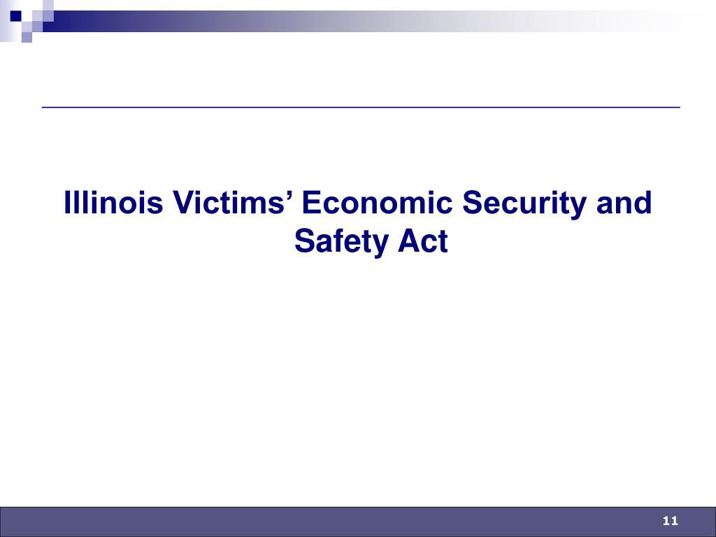 Illinois Victims' Economic Security and Safety Act