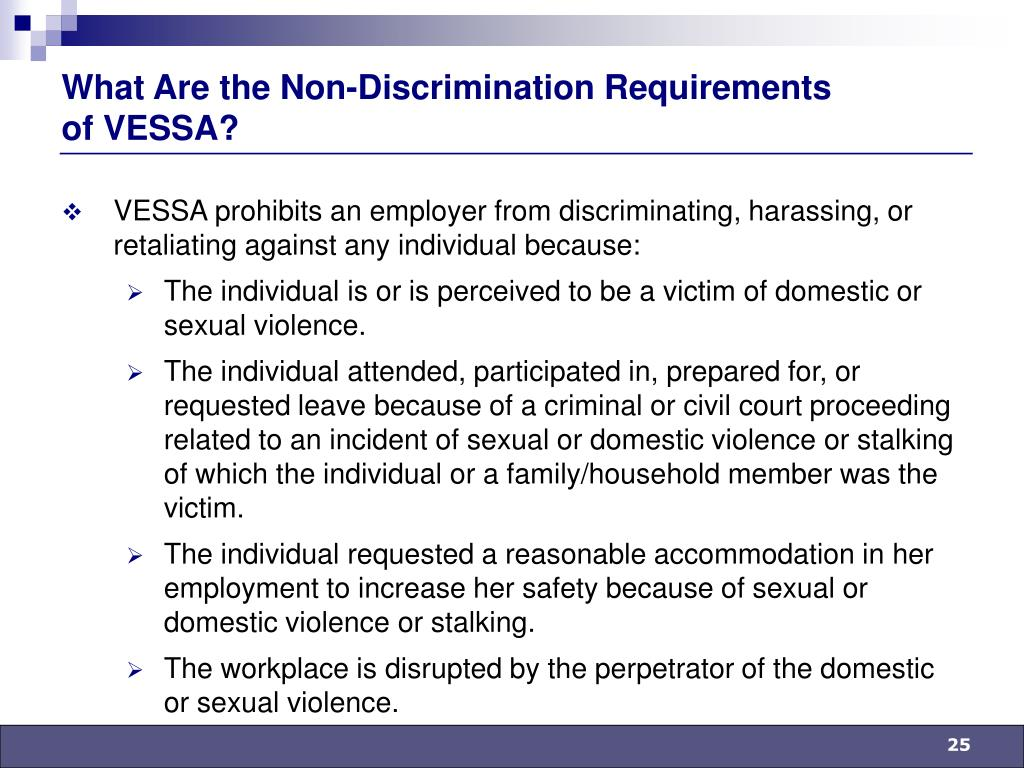 What Are the Non-Discrimination Requirements